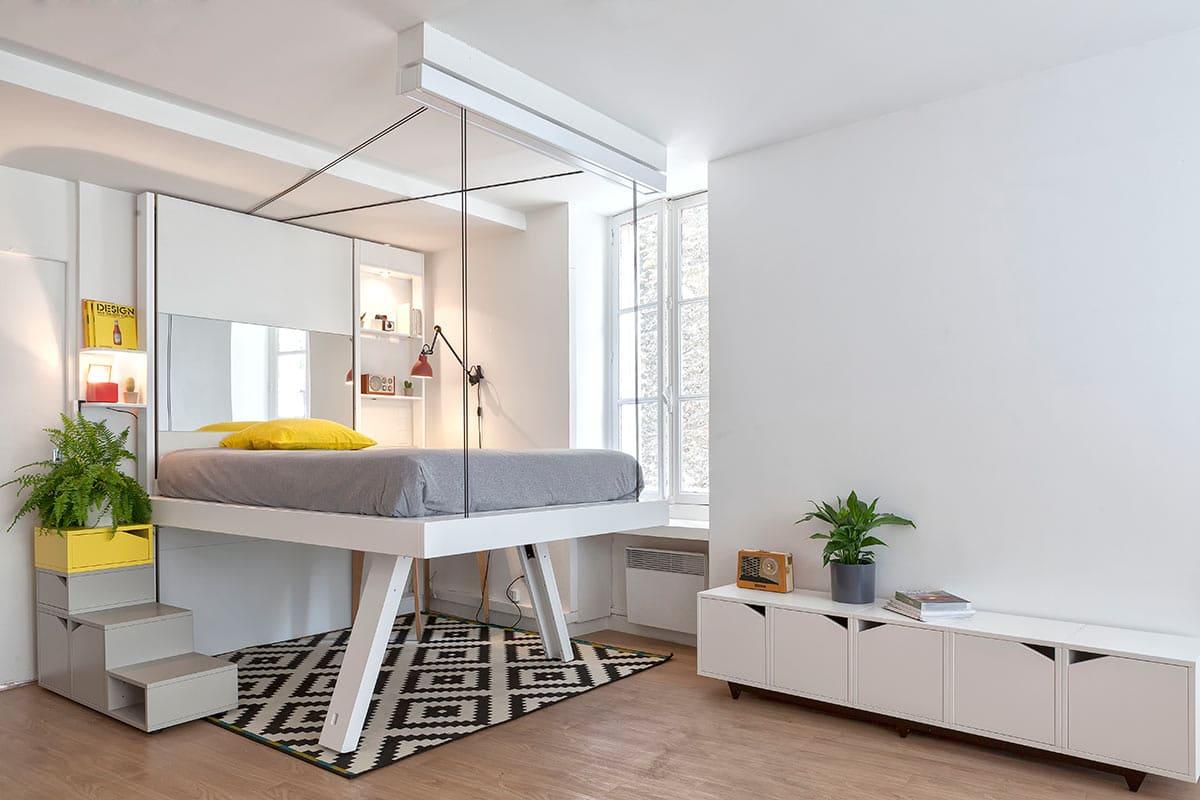 rangement pratique petits espaces gain de place