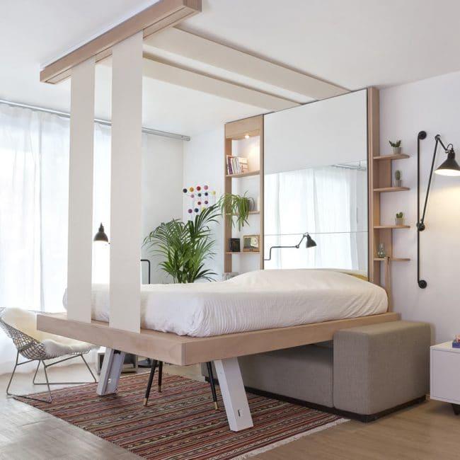 LIt au plafond Cocoon, par bed Up.