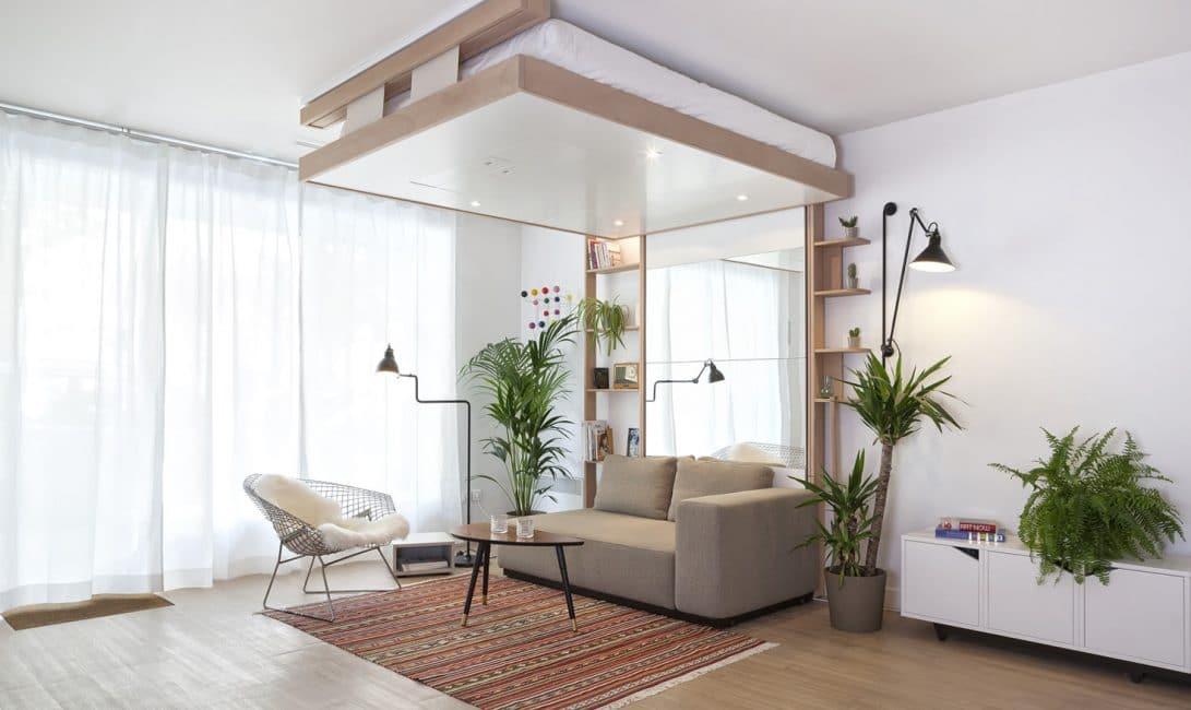 le lit escamotable bedup cocoon monte et disparait au plafond - Lit Escamotable Plafond