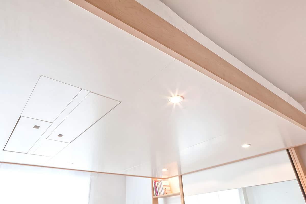 Comment Suspendre Un Plateau Au Plafond lit suspendu vision : design et gain de place - bedup®