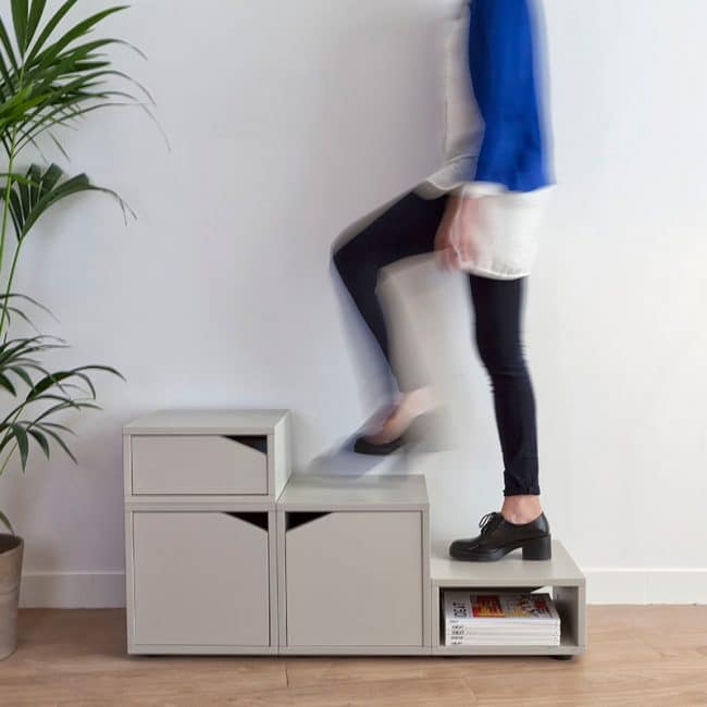 Cube03, un meuble, plusieurs usages.