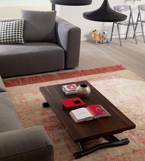 table relevable extensible sous bedup