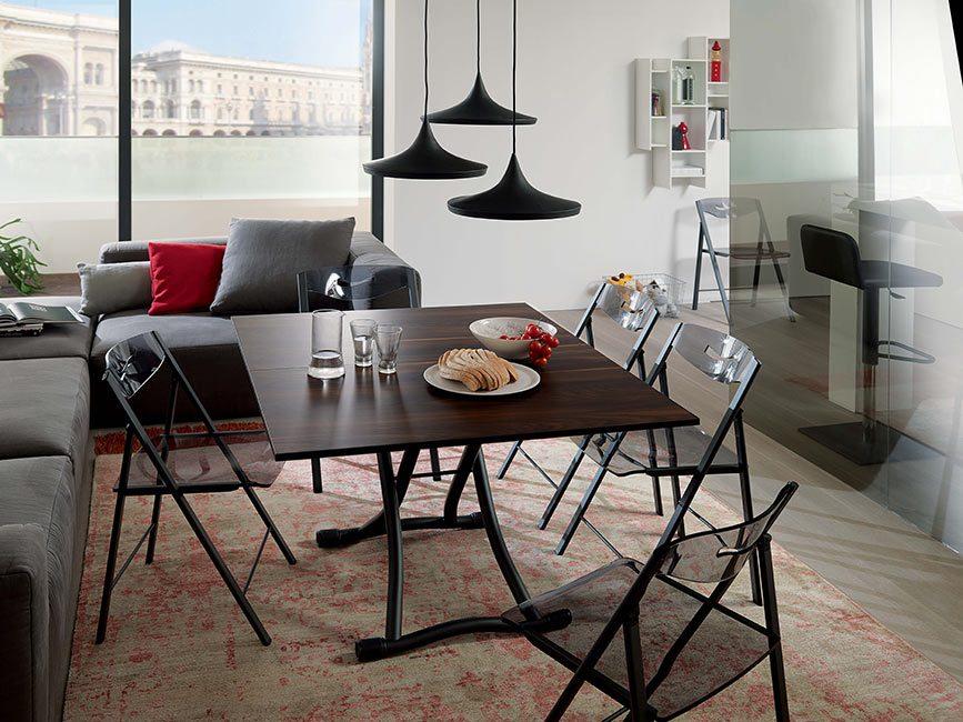 Table relevable bedUp, modèle Milano.