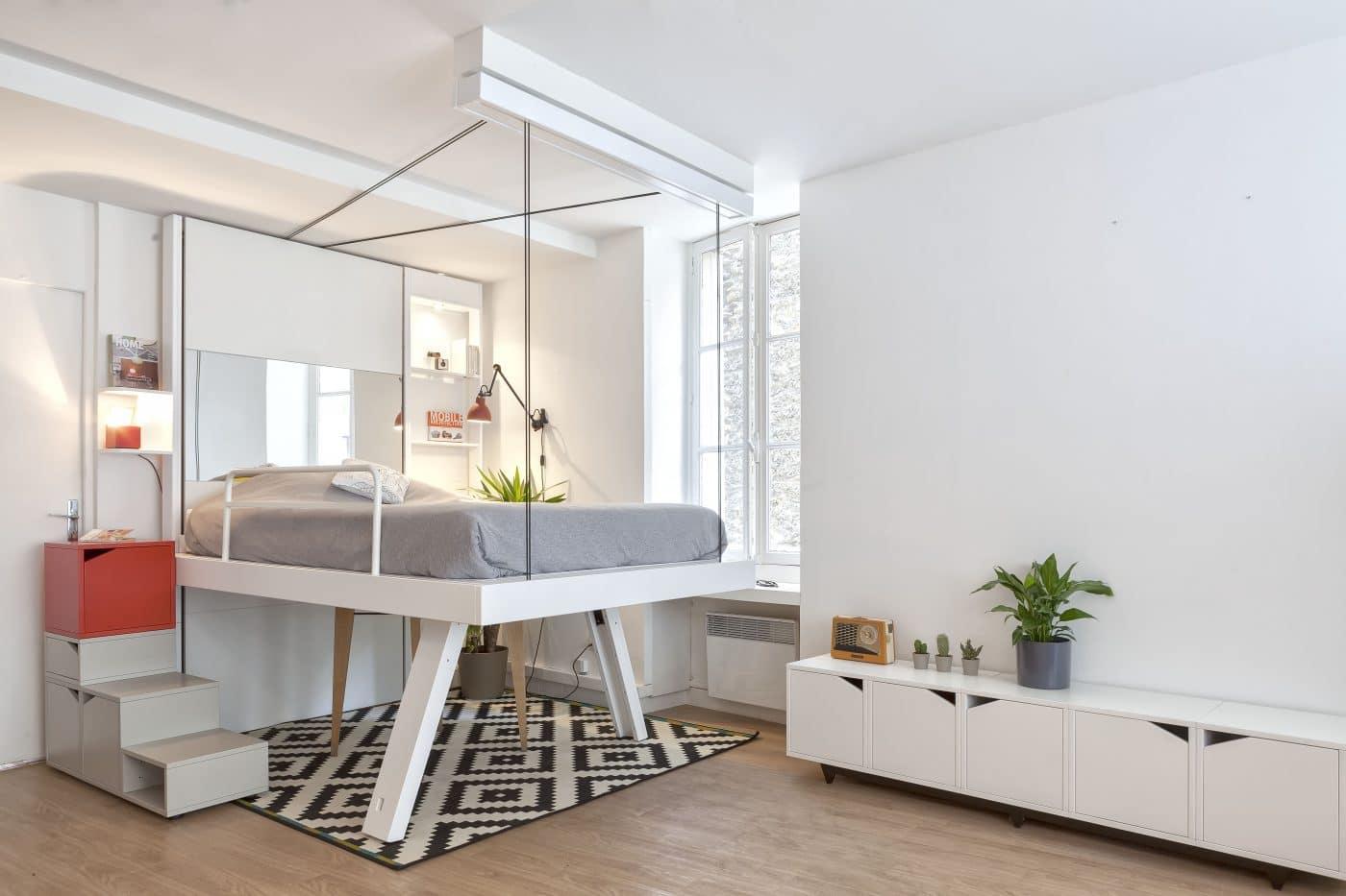 bedUp, solution de lits escamotables pour meublés.