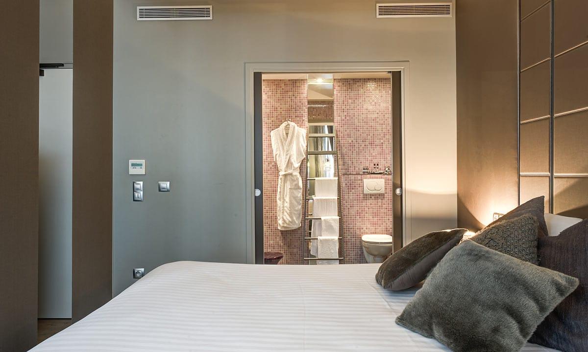 """Les lits escamotables bedUp, une solution """"gain de place"""" solution pour les professionnels de l'hôtellerie."""