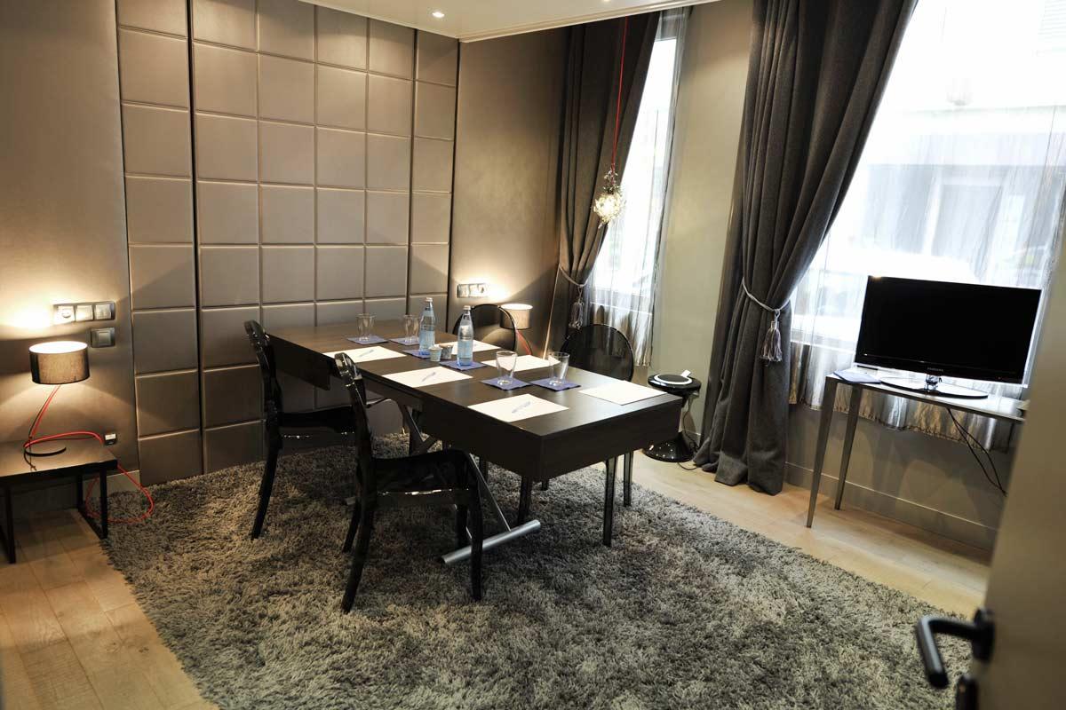 lit escamotable salle de reunion hotel avec bedup