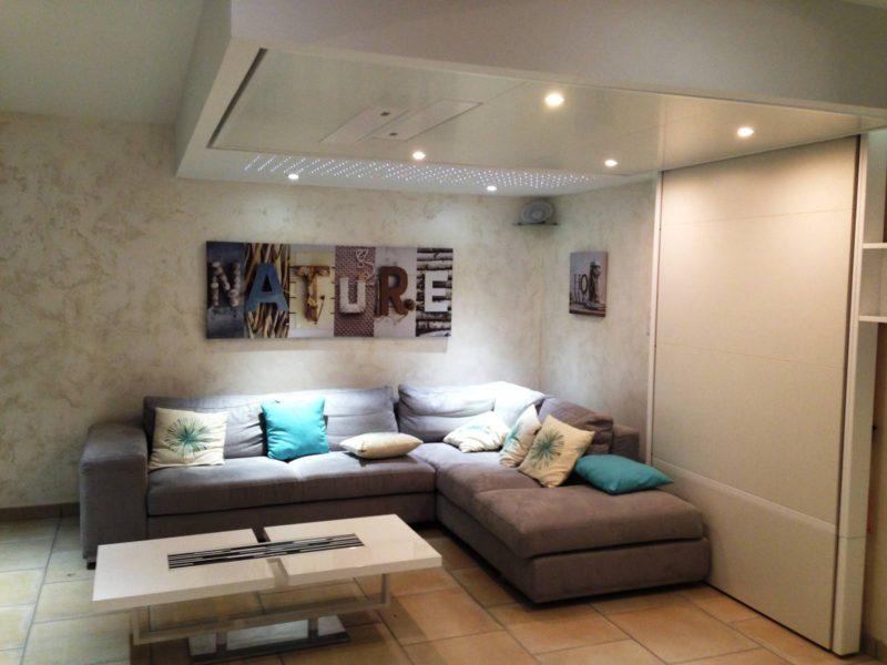 rangement pratique petits espaces gain de place lit escamotable plafond bedup