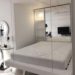 lit au plafond lit escamotable gain de place