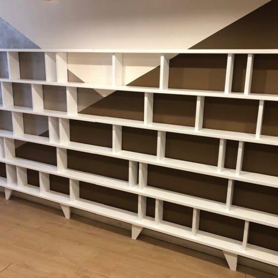 bibliothèque étroite 15cm profondeur