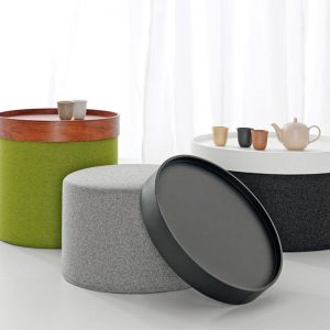 pouf table basse