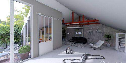 tendance 2019 déco lit au plafond lit escamotable lit qui se range
