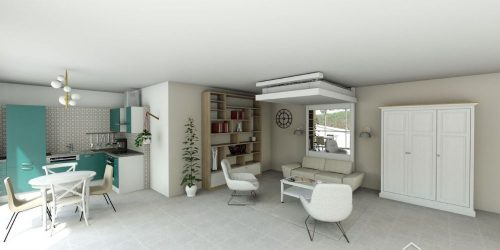 lit au plafond aménagement malin gain de place lit relevable plafond lit escammotable bedup®