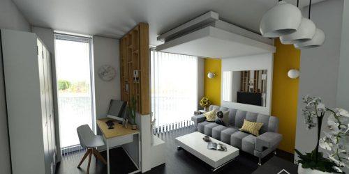 aménagement d'intérieur lit au plafond relooking appart aménagement malin gain de place lit relevable plafond lit escamotable bedup®
