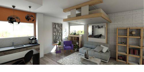 lit au plafond lit relevable déco 2019 aménagement d'intérieur
