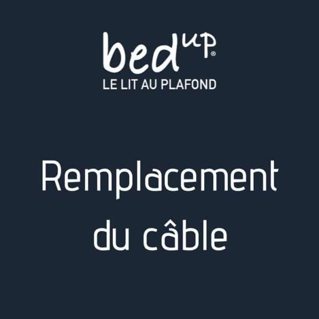 Remplacement de câble sav lit au plafond