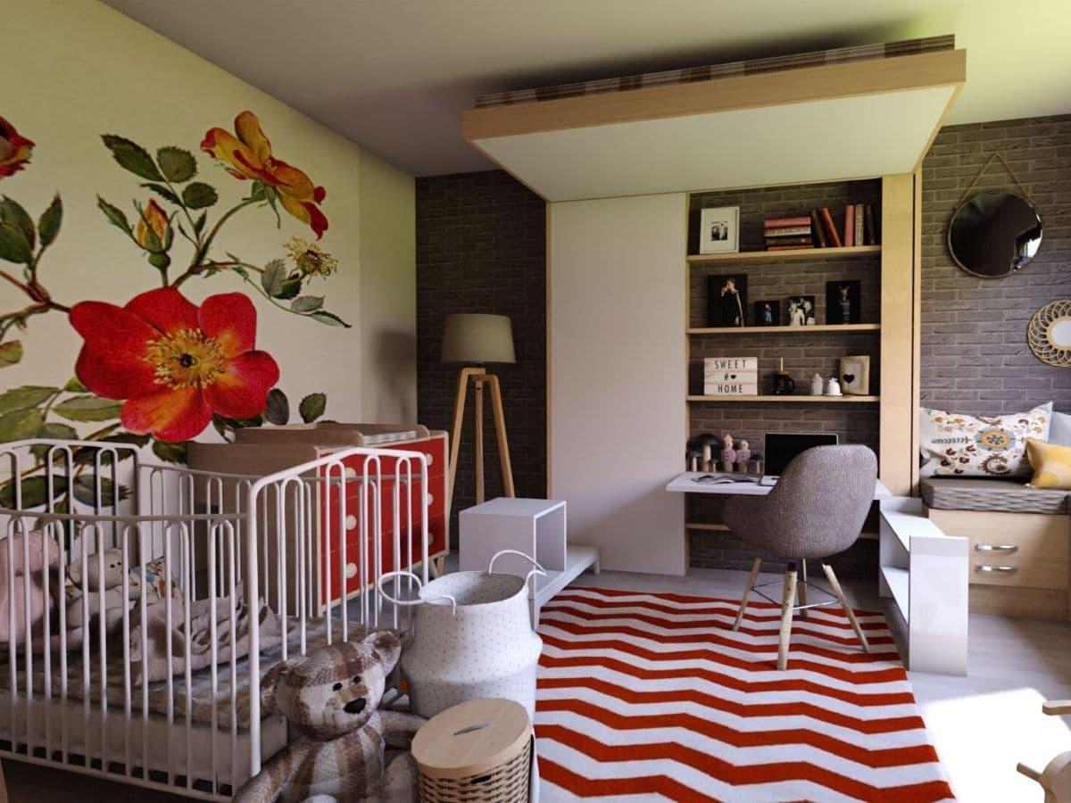 Gain De Place Meuble chambre d'enfant bedup® - spécialiste petits espaces