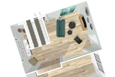 lit-escamotable-plafond aménagement gain-de-place petits-espaces meuble-pratique bedup-lit-escamotable chambre projet-déco aménagement-bureau