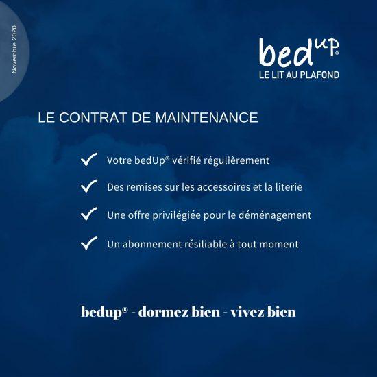 bedUp maintenance