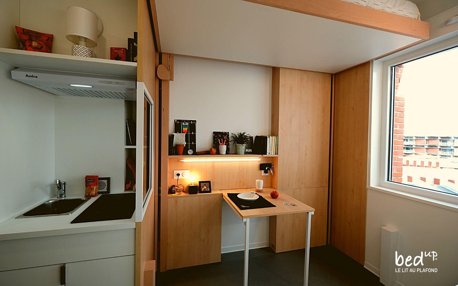 lit escamotable residence bedUp®Campus