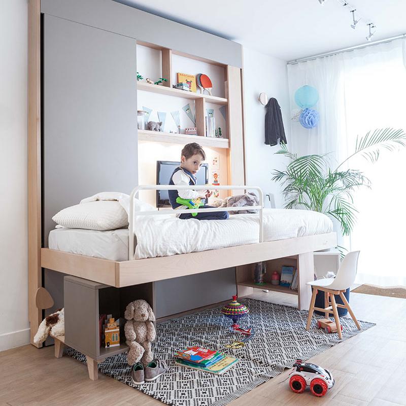 lit escamotable plafond enfant